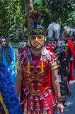 2018 Moriones Festival. BOAC , PHILIPPINES - MARCH 30 : Participants in the Moriones festival in Boac Marinduque island the Philippines. The Moriones festival Royalty Free Stock Photography