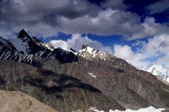 Boad Peak from Gore II Stock Images