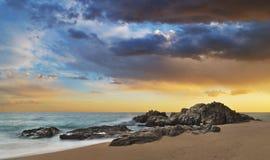 Boadella sunset stock images