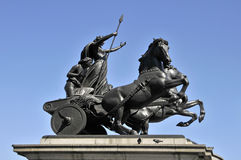 Boadicea statue royalty free stock images