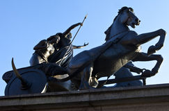 Boadicea Statue in Westminster Stock Photo