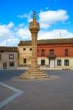 Boadilla del Camino τρόπος Αγίου James Gothic rollo Στοκ φωτογραφία με δικαίωμα ελεύθερης χρήσης
