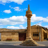Boadilla del Camino τρόπος Αγίου James Gothic rollo Στοκ Εικόνα