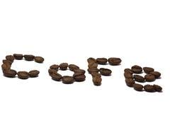 Boan koffie Royalty-vrije Stock Foto