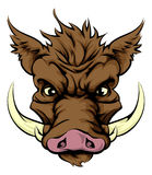 Boar mascot Royalty Free Stock Image