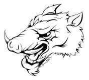 Boar mascot Royalty Free Stock Photos