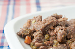 Boar stew Royalty Free Stock Image