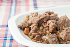 Boar stew Stock Photography