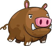Boar vector Stock Images