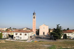 Boara Polesine, Italy. Royalty Free Stock Photos