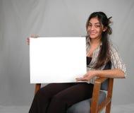 Board-10 in bianco fotografia stock