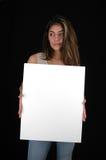 Board-5 in bianco fotografia stock libera da diritti