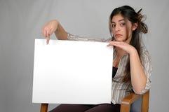 Board-8 in bianco immagini stock libere da diritti