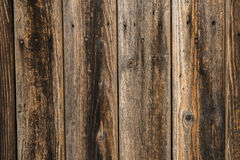 Board background. Texture of an old plank door, it's possible to use as texture of a wooden floor Stock Image
