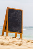 Board on the beach Royalty Free Stock Photo