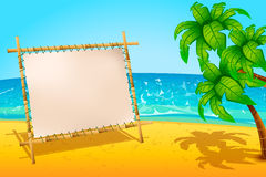 Board beach Stock Photos