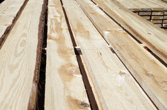 Board blanks drying. Royalty Free Stock Images