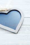Board for chalk in the shape of heart Royalty Free Stock Photo