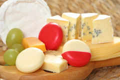Board of cheese Stock Photos