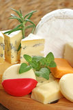Board of cheese Royalty Free Stock Images