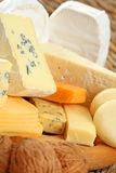 Board of cheese Royalty Free Stock Photo