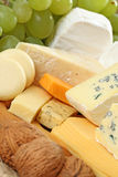 Board of cheese Stock Photo