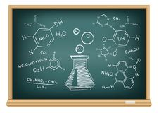Board chemistry Royalty Free Stock Photography