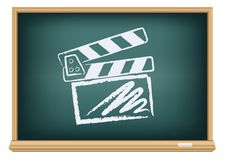 Board cinema clapper board Stock Photo