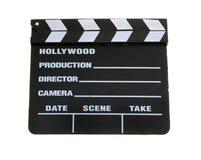 board clapper movie Στοκ Εικόνες