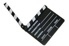 board clapper movie Στοκ φωτογραφίες με δικαίωμα ελεύθερης χρήσης