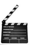 board clapper movie Στοκ Εικόνα