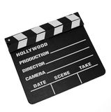 board clapper movie Στοκ εικόνα με δικαίωμα ελεύθερης χρήσης