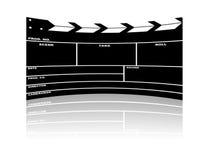 board clapper movie Στοκ φωτογραφία με δικαίωμα ελεύθερης χρήσης