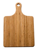 Board for cutting bamboo Royalty Free Stock Photography