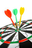 Board for darts. Stock Image