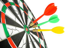 Board for darts. Stock Images