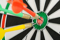 Board for darts. Royalty Free Stock Image