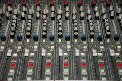 board det blandande ljudet Arkivfoto