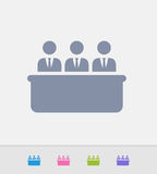 Board Of Directors - Granite Icons. A professional, pixel-perfect icon designed on a 32x32 pixel grid and redesigned on a 16x16 pixel grid for very small sizes Stock Photos