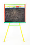 Board for drawing with chalk Stock Photography