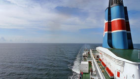On board. The ferry in the Baltic Sea Stock Images
