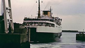 On board of ferry