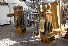 On board the Frigate Royalty Free Stock Images