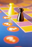 Board Game. In Warm Cast Royalty Free Stock Image