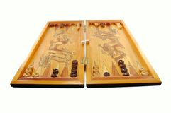 Board game a backgammon Stock Photo