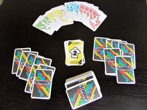Board game. Card game Royalty Free Stock Photo