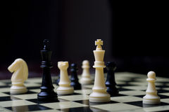 Board game -chess Royalty Free Stock Image