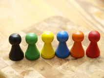 Board Game Counters Royalty Free Stock Photos