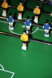 Board game football. With plastic figures of players Stock Image