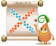 Board game labyrinth Royalty Free Stock Photo